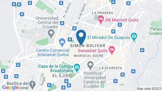 Hotel Reina Isabel Map