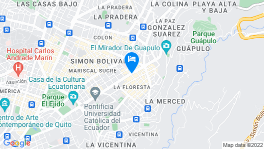 NH Collection Quito Royal Map