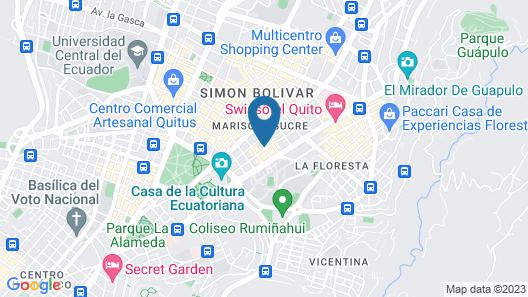 Plaza Foch AREA - WONDERFUL Apartment Map