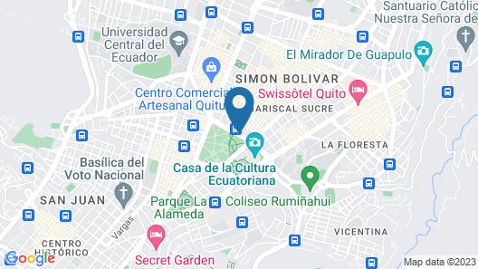 Hilton Colon Quito Map