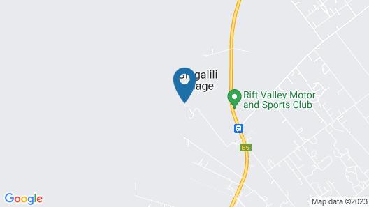 Maili Saba Camp Map
