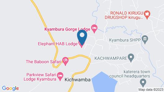 Pumba Safari Cottages Map