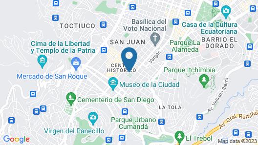 Hotel Plaza Grande Map