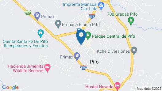 Hostal La Dicha Map