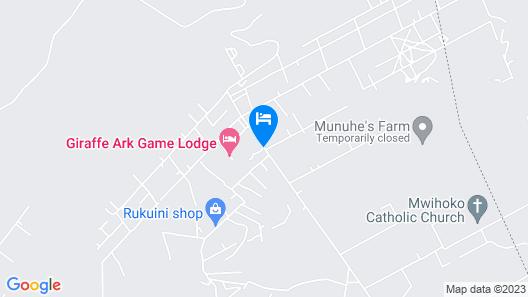 Giraffe Ark Game Lodge Map