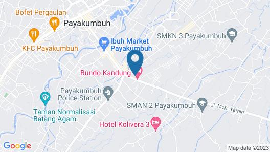 OYO 2174 Bambu Hotel Map