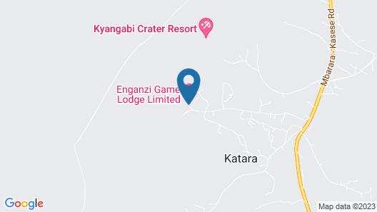 Enganzi Game Lodge Ltd Map