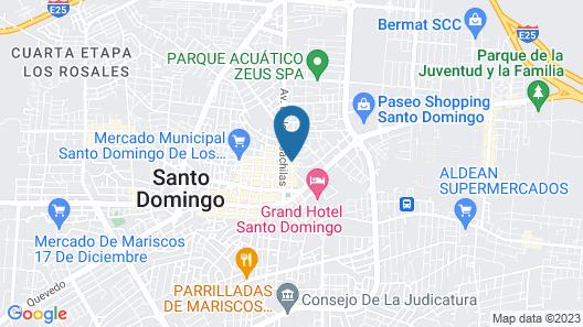 Hotel Las Brisas Map