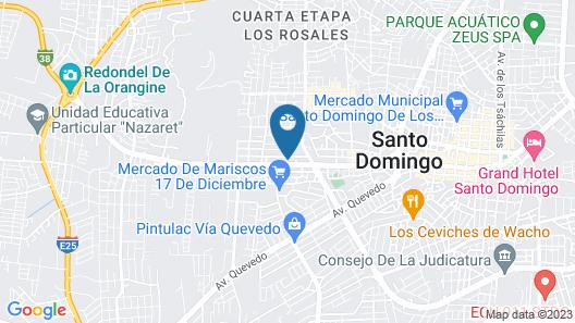 Grand Hotel Santander Map