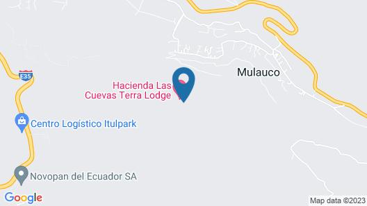 Hacienda Las Cuevas Terra lodge Map