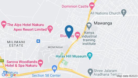 Emboita Hotel Map