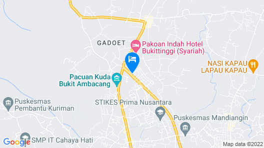 OYO 1386 Hotel Grand Gabelo Map
