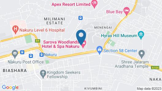 Sarova Woodlands Hotel Map