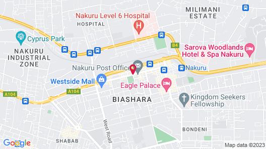 Merica Hotel Map