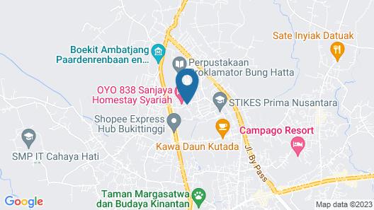 OYO 838 Sanjaya Homestay Syariah Map