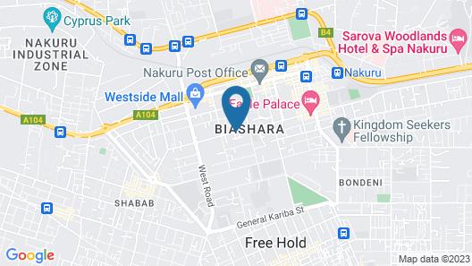 Nuru Palace Hotel Map