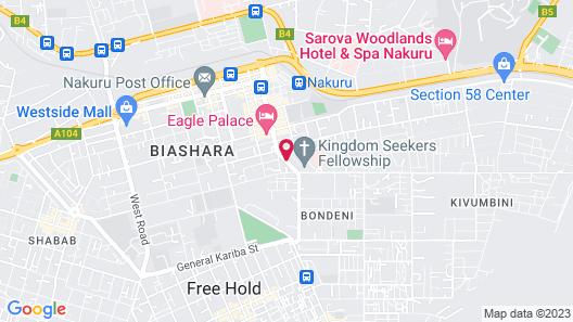 Bison Hotel Map
