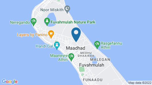 Equator Residence Map
