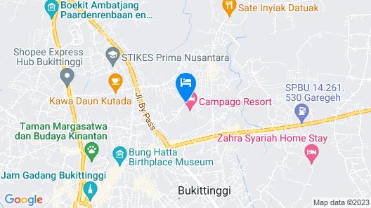 Campago Resort Hotel Map