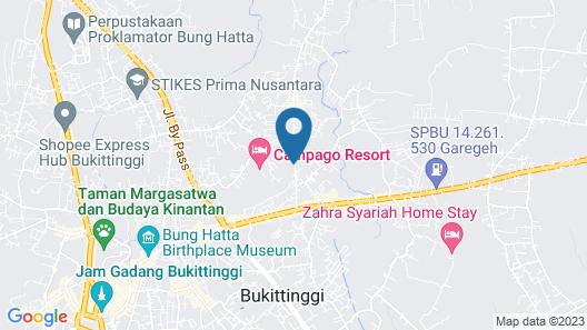 OYO 1728 D'rizd Homestay Syariah Map