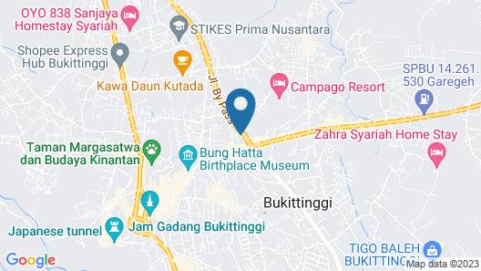 OYO 555 Aedo Map