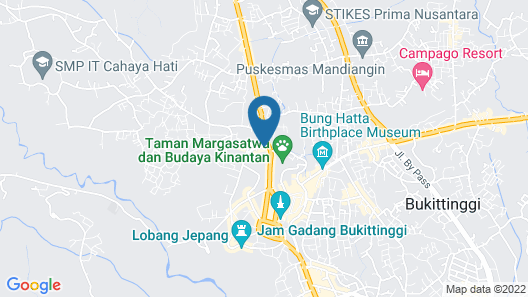 Hotel Asia Map