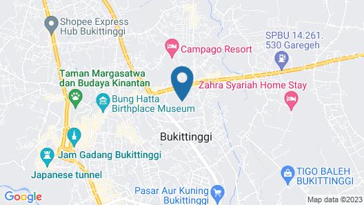 Pusako Bukittinggi Map