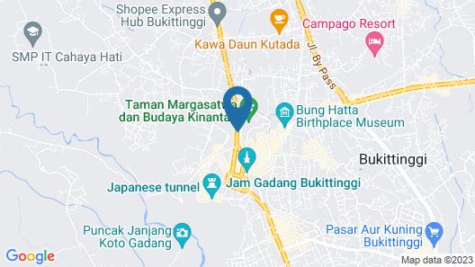Hotel Salma Map