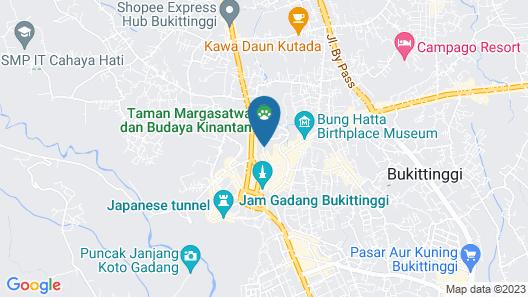 OYO 1407 HOTEL AMALI SYARIAH Map