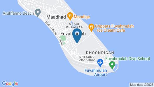 Marina Boutique Hotel Map