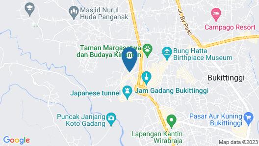 Grand Rocky Hotel Map
