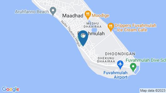 Cottage 316 Fuvahmualh Map