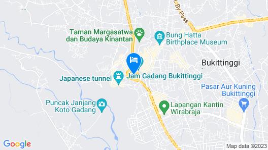 Novotel Bukittinggi Map