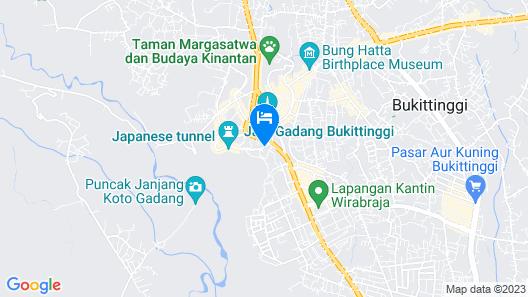 Ambun Suri Hotel Map