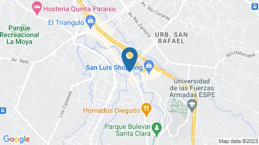 Hotel Hosteria La Quinta Resort Map