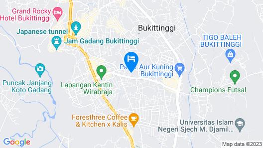 OYO 1572 Orange Residence Syariah Map