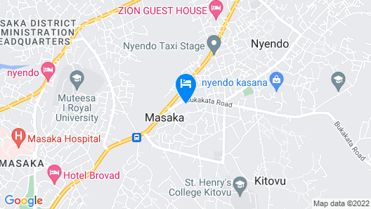 Trendy Executive Suites In Masaka Map