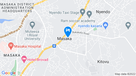 Trendy Deluxe Twin Rooms In Masaka - 2 Map