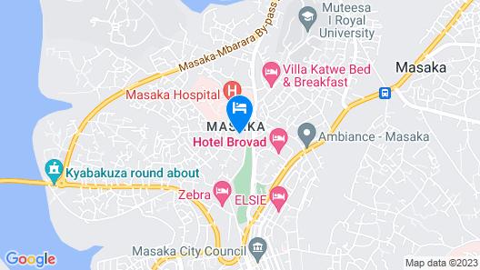 GOLF LANE HOTEL Map