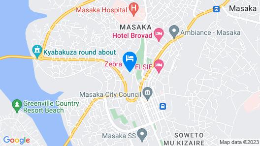 Zebra Hotel Map