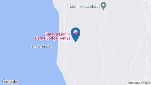 Sarova Lion Hill Game Lodge Map