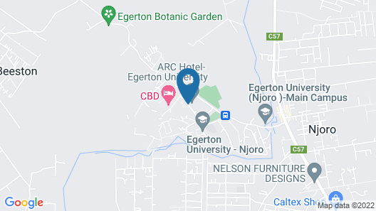 ARC Egerton Hotel Map