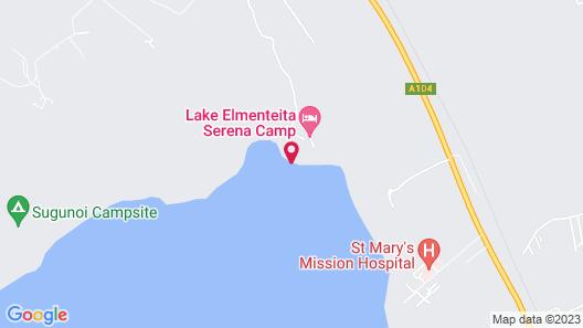 Lake Elmenteita Serena Camp Map
