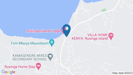 Rusinga Island Lodge Map