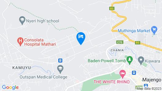Wamagach Kahua- Ini Hotel Map
