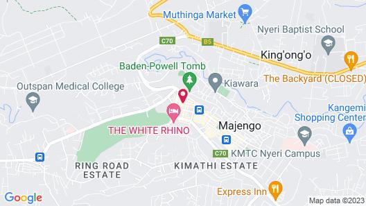 Ibis Hotel Nyeri Map