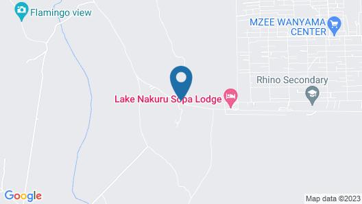 Lake Nakuru Lodge Map