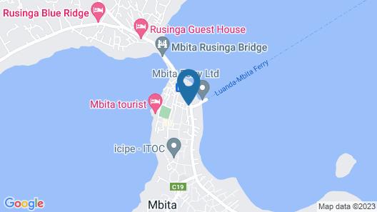 SONACA HOTEL - MBITA Map