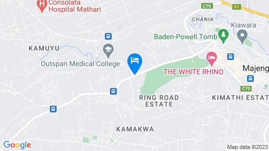 Queens Park Guest House Map