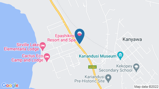 Epashikino Resort & Spa Map